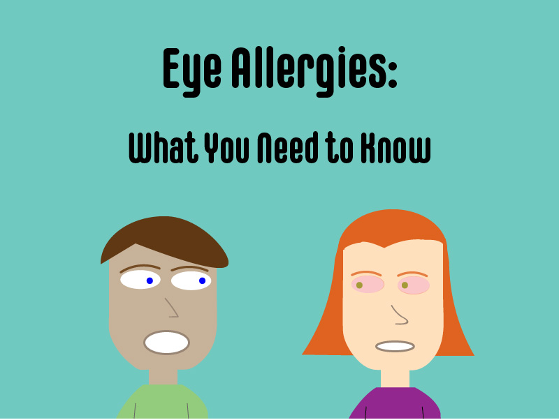 Eye allergies graphic