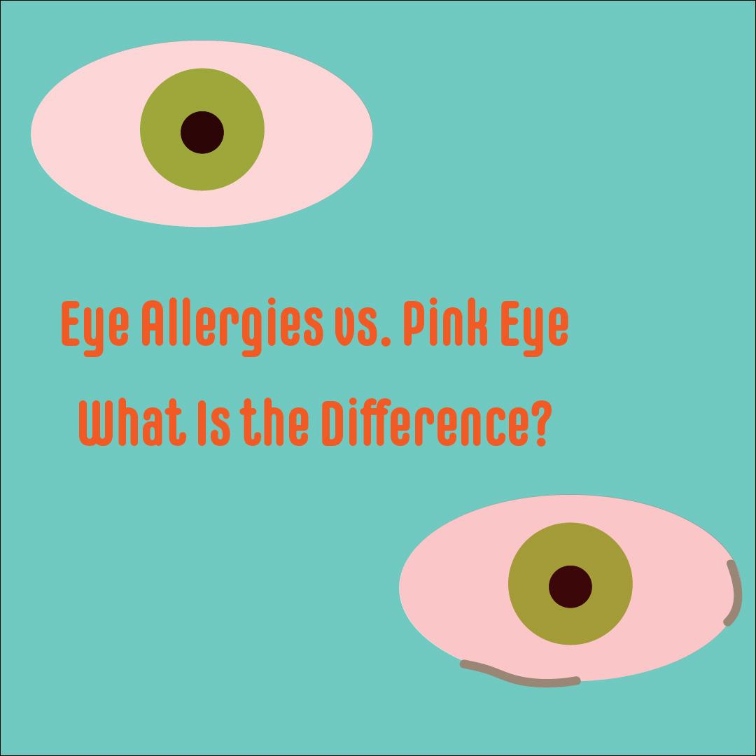 eye allergies vs pink eye