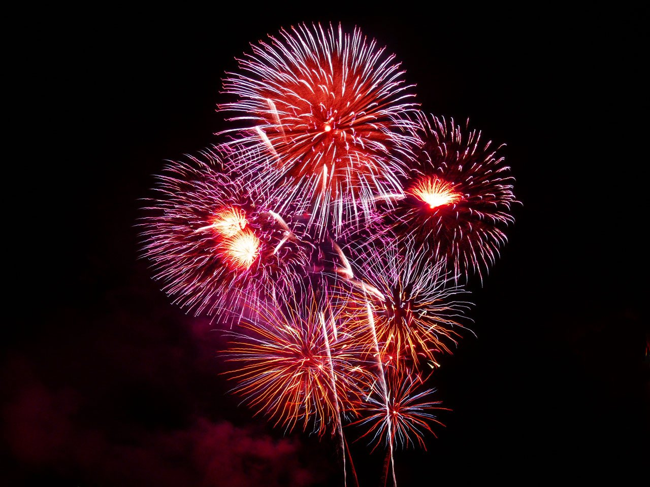 Where to see Fireworks in Knoxville, Tennessee
